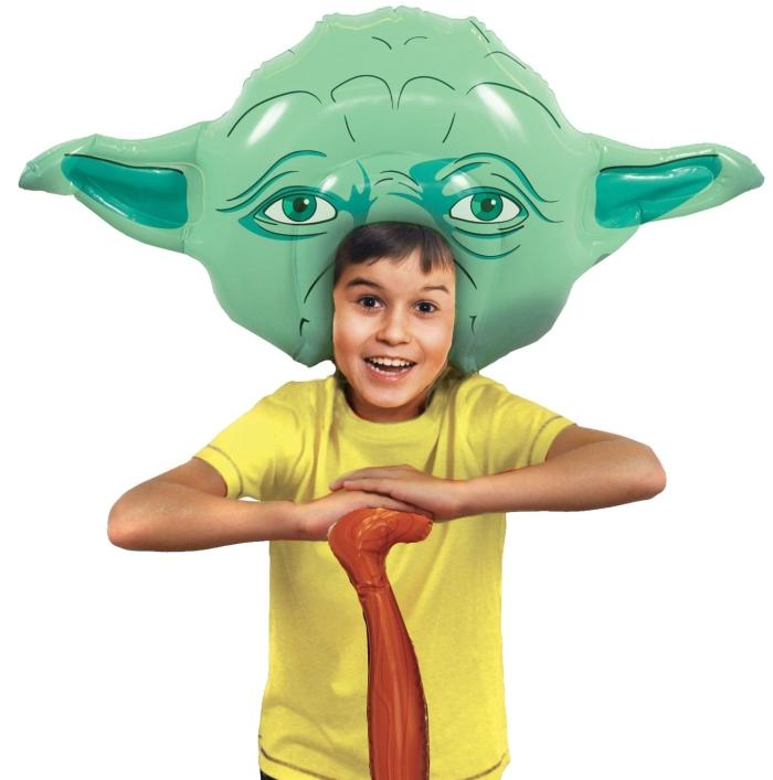 Inflatable Yoda Costume