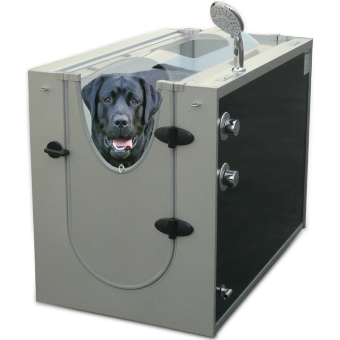 The Canine Shower Stall