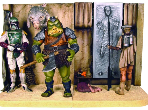 Gentle Giant Star Wars: Jabba's Palace Bookends