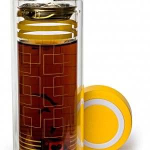 Yellow Square Tea Tumbler
