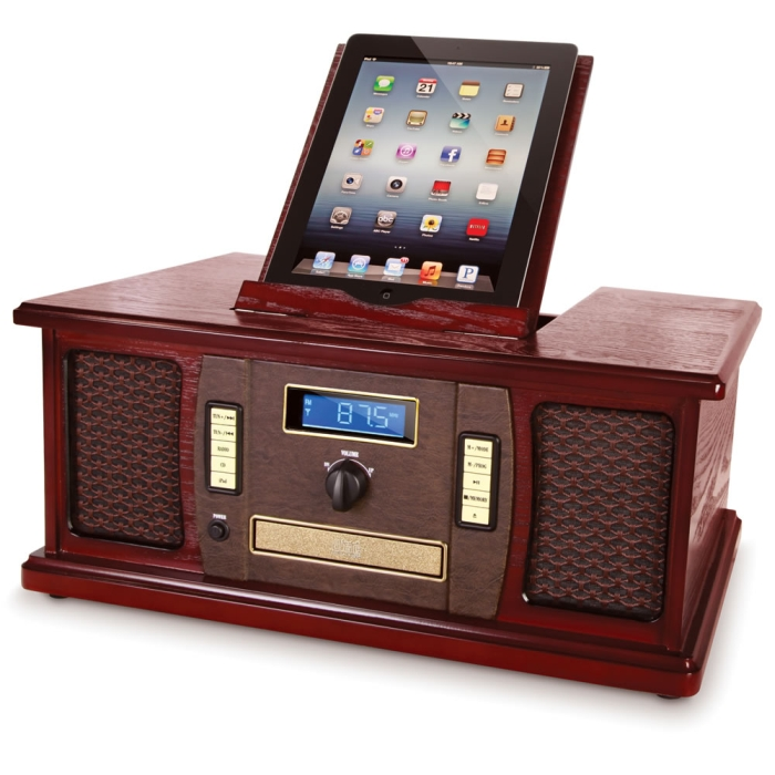 The iPad Classic Cabinet Music Center