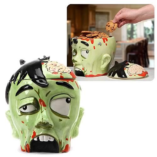 Zombie Head Cookie Jar, Not Mint
