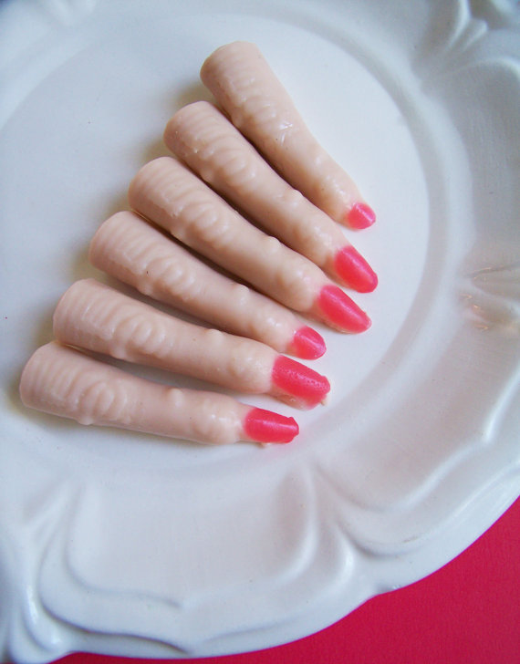 Creepy Lady Finger Soap Set