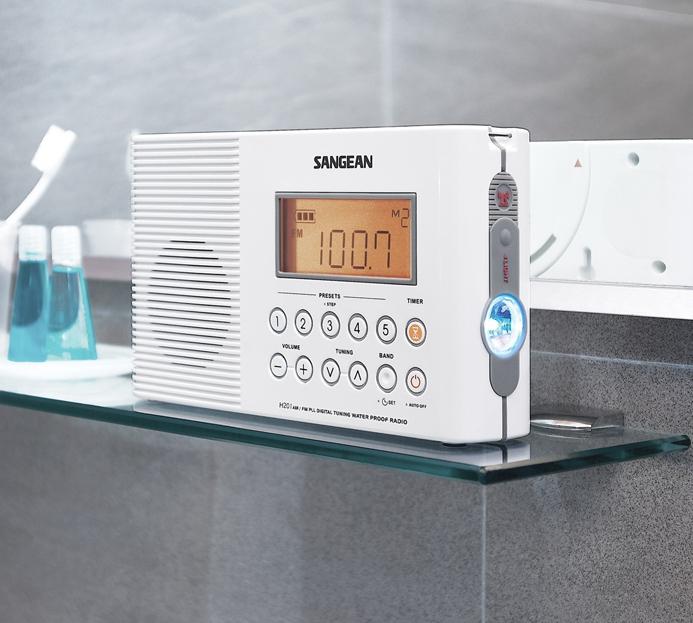 Weatherproof Shower Radio