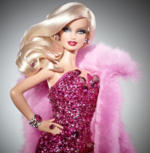 $15,000 Pink Diamond Barbie Doll