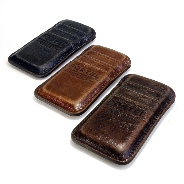 RETROMODERN aged leather pocket for iPhone 5