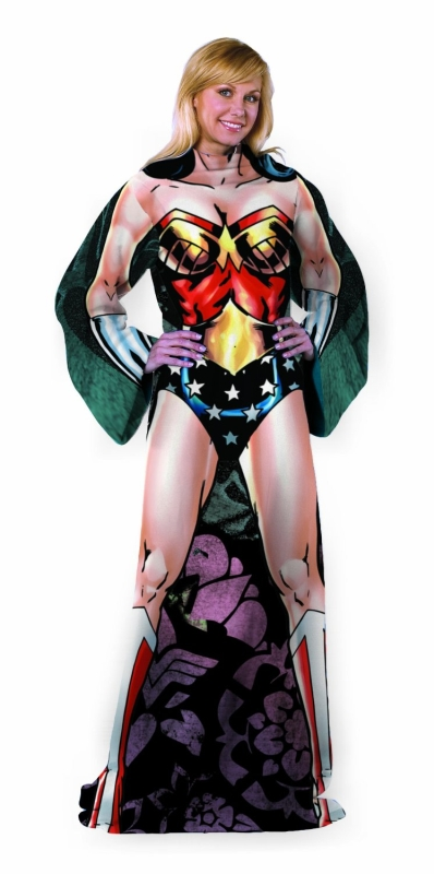 Strong Wonder Woman Comfy Throw