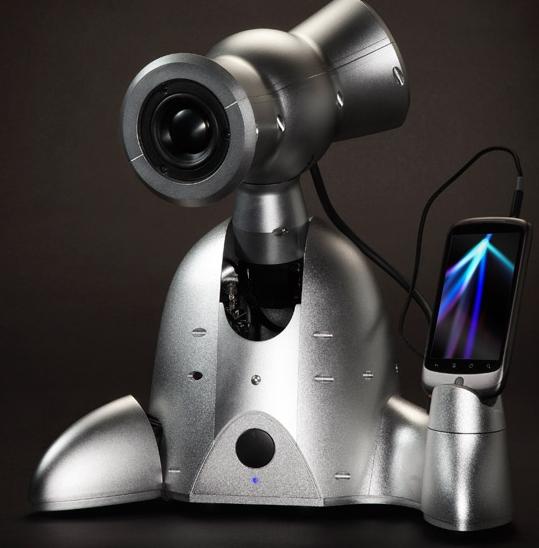 shimi robotic speaker dock