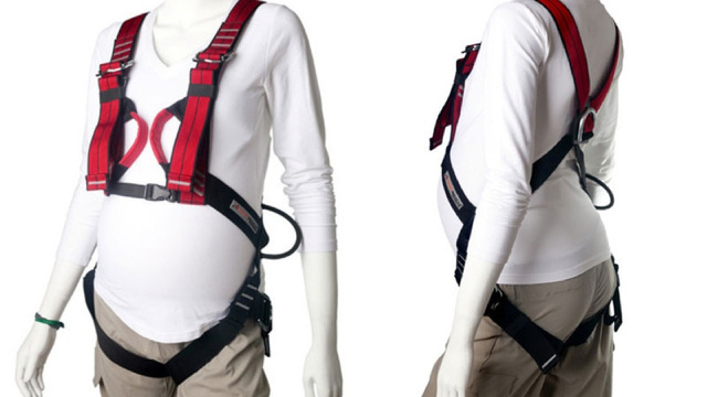 Full-Body Rock Climbing Harness For Pregnant Women