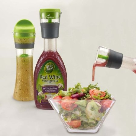 Healthy Steps Salad Dressing Portion Control Bottle Set