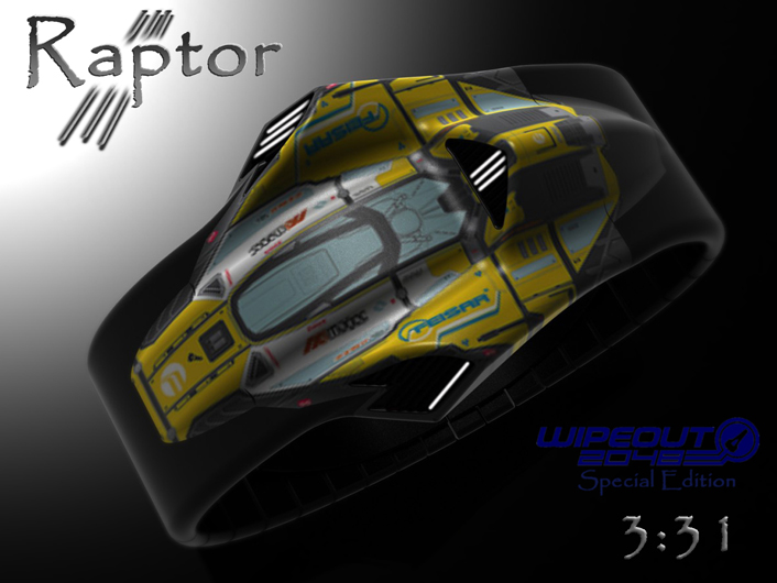 Raptor LED watch