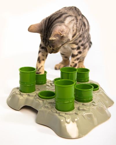 Stimulo Cat Feeding Station and Activity Center