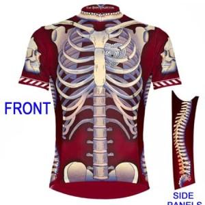 Primal Wear Bone Collector Skeleton Cycling Jersey Men's Short Sleeve