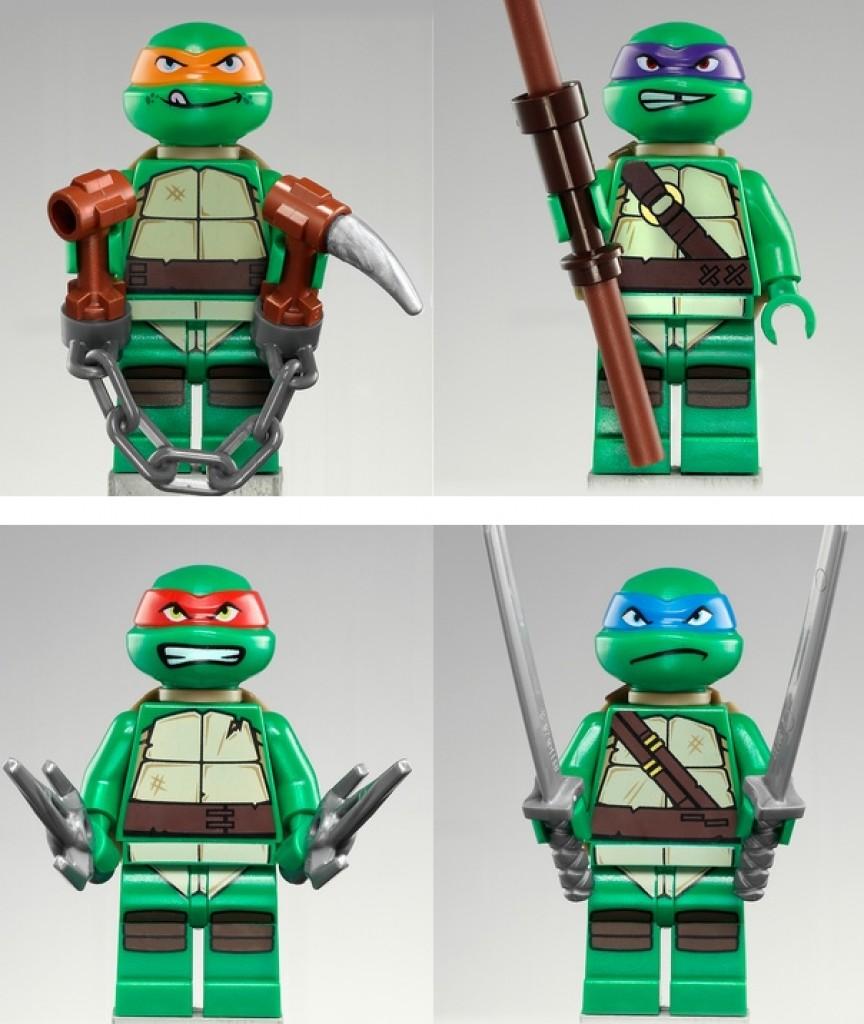 Lego Teenage Mutant Ninja Turtles Official Collection