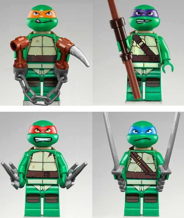 Lego Teenage Mutant Ninja Turtles Official Collection