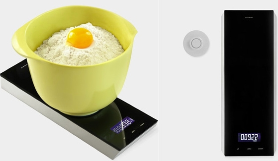 A Sleek Scale For Your Kitchen