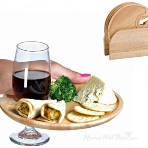 Wooden Appetizer Plates