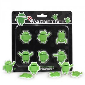 Google Android Mini-Figure Magnet Set