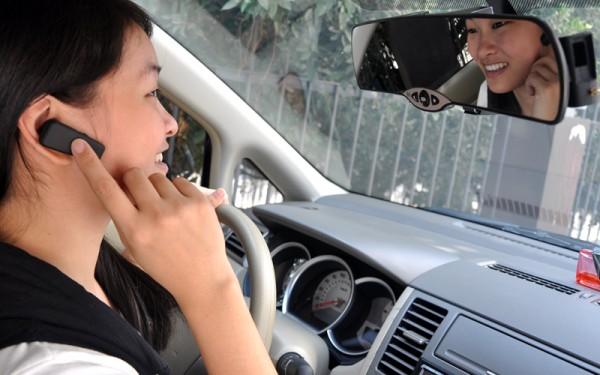 Bluetooth Rearview Car Mirror
