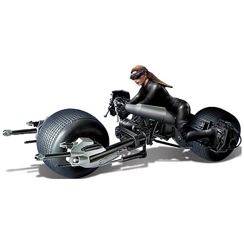 Batman Dark Knight Rises Bat-Pod with Catwoman Model Kit