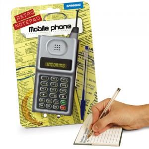 RETRO MOBILE PHONE NOTEPAD