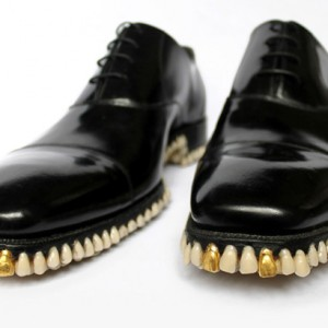 Tooth-soled shoes