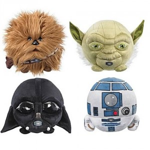 Star Wars 7-Inch Talking Plush Ball Case
