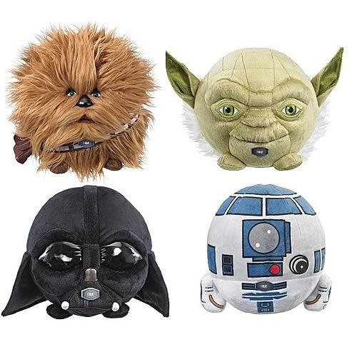 Star Wars 7-Inch Talking Plush Ball Case