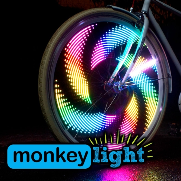 Monkey Light M232 Bike Light - 32 Full Color LEDs