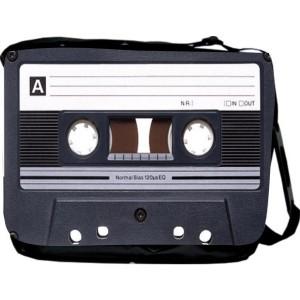Cassette Tape Messenger Bag