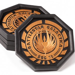 Battlestar Galactica Coaster Set