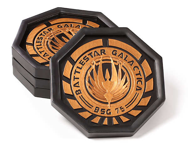 68% Discount: Battlestar Galactica Coaster Set