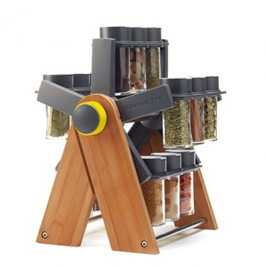The Ferris Wheel Spice Rack Is Like A Rolodex For Flavour