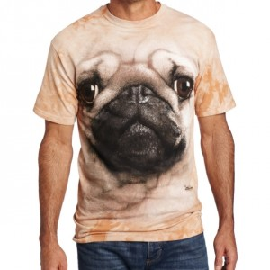 The Mountain Men's Pug Face T-shirt