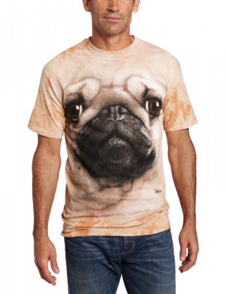 Notorious PUG T-Shirt by SnorgTees. Men's and women's sizes available. Check out our full catalog for tons of funny t-shirts.