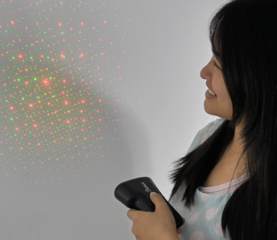 """Mini Laser Effects Projector """"Loopy Laser"""""""