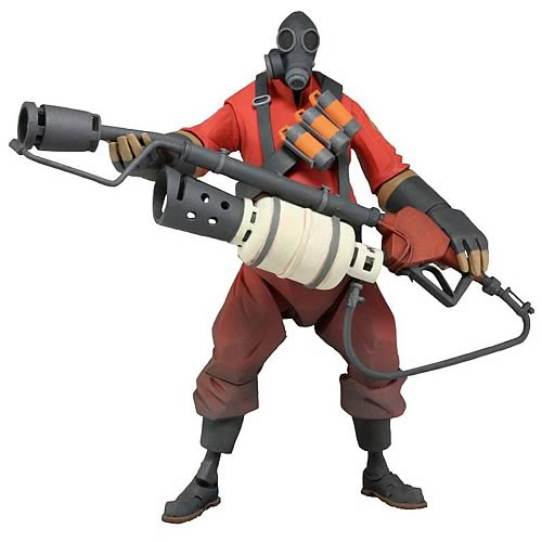 Team Fortress 2 Series 1 Pyro 7-Inch Action Figure