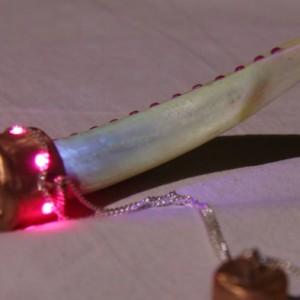 USB flash 32 GB silver necklace