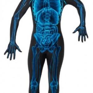 Smiffy's X-Ray Skeleton Costume