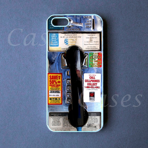 Payphone Iphone 5 Cover