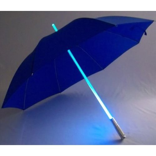 6 color LED shaft Umbrella