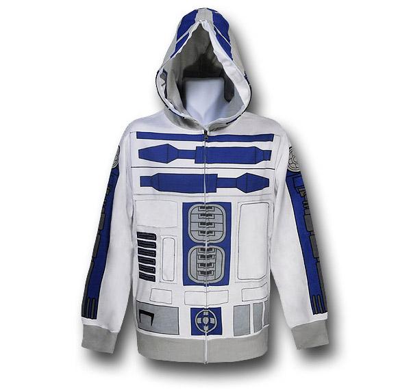 R2-D2 Costume Hoodie
