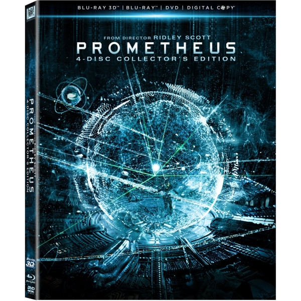 Prometheus (Blu-ray 3D/ Blu-ray/ DVD/ Digital Copy) (2012)