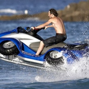 $40,000 BMW-powered Gibbs Quadski ATV