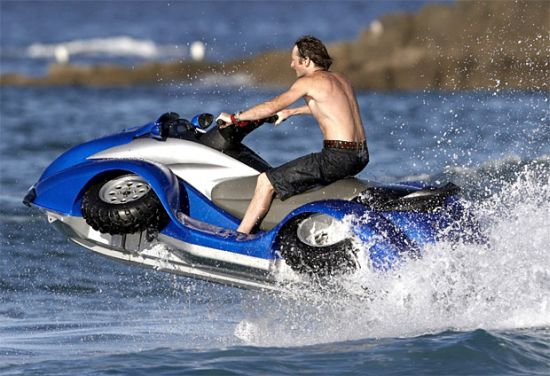$40,000 BMW-powered Gibbs Quadski ATV