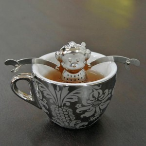 Monkey Tea Infuser and Drip Tray