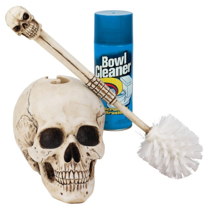 Skullduggery Toilet Bowl Brush