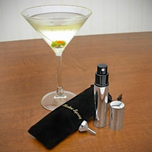 Stainless Steel Martini Vermouth Atomizer Spray Set