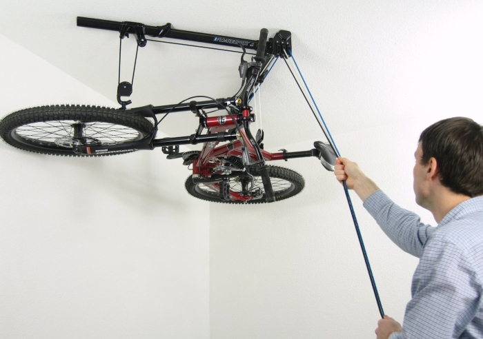Horizontal Bike Hoist