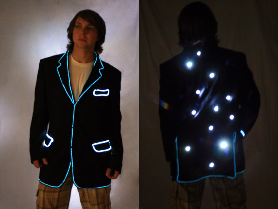 Light up suit Jacket